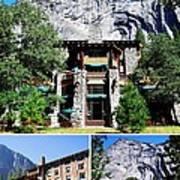 Ahwahnee Hotel In Yosemite National Park Art Print