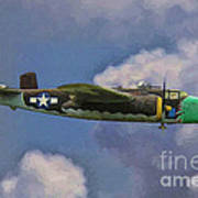 Air Apaches B-25j Art Print