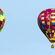 Air Balloons  0208 Art Print
