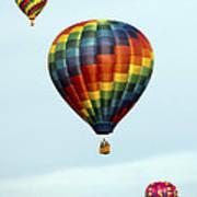 Air Balloons  0251 Art Print