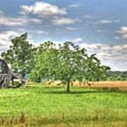 Air Conditioned Barn Art Print