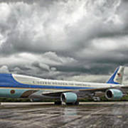 Air Force One Art Print