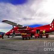 Air Greenland Art Print