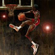Air Jordan Print by Jumaane Sorrells-Adewale