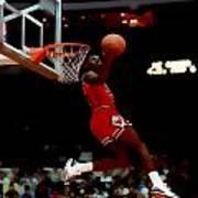 Air Jordan Reverse Slam Art Print