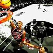 Air Jordan Rises Art Print