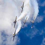 Air Show Baltic Bees Jet Team Art Print