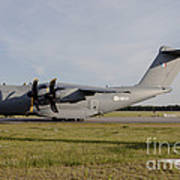 Airbus A400m For The French Air Force Art Print