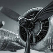 Airplane Propeller - 02 Art Print