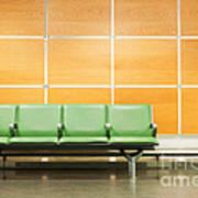 Airport Seats Art Print