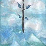 Airy Ace Of Wands Art Print