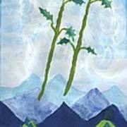 Airy Two Of Wands Art Print