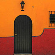 Ajijic Door No.4 Art Print