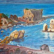 Akamas Paphos Art Print
