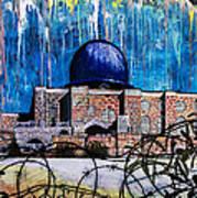 Al-asqa Mosque Palestine Art Print by Salwa  Najm