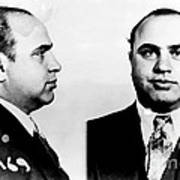 Al Capone Mug Shot Art Print