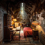 Al Capone's Cell - Historical Ruins At Eastern State Penitentiary - Gary Heller Art Print
