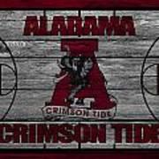 Alabama Crimson Tide Art Print by Joe Hamilton