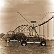 Alabama Irrigation System Vignette Art Print