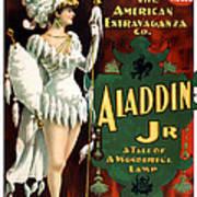 Aladdin Jr Amazon Art Print