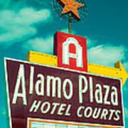 Alamo Plaza Hotel Dallas Art Print
