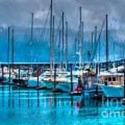 Alaska Boats Art Print