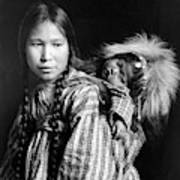 Alaska Eskimos, C1912 Art Print