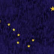 Alaska Flag Art Print