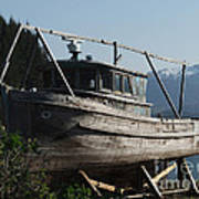 Alaska Ketchikan Dry Dock Art Print