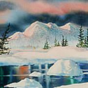 Alaska Panorama Art Print