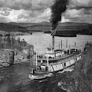 Alaska Steamboat, 1920 Art Print