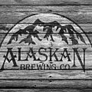 Alaskan Brewing Art Print