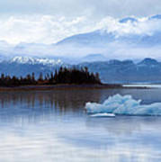 Alaskan Mountain Side Art Print