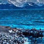 Alaskan Ocean Art Print
