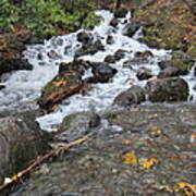 Alaskan Waterfall Art Print