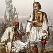 Albanians, 1865 Art Print