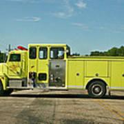 Albany Community Volunteer Fire Dept.  702 Art Print