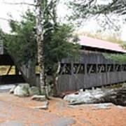 Albany Covered Bridge  Art Print