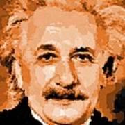 Albert Einstein 01 Art Print