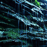 Albion Waterfalls 3 Art Print