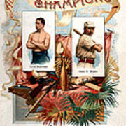 Album Of Worlds Champions Art Print