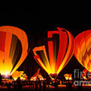 Albuquerque Balloon Festival Art Print