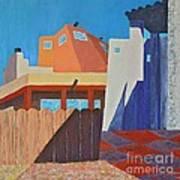Albuquerque Rays Art Print