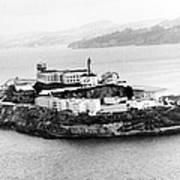 Alcatraz All Alone Art Print by Retro Images Archive