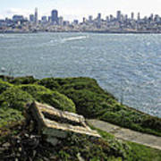 Alcatraz And San Francisco Art Print