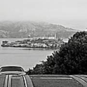 Alcatraz Island From Hyde Street In San Francisco Art Print by RicardMN Photography