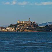Alcatraz Island In San Francisco Bay Art Print