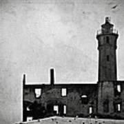 Alcatraz Island Lighthouse Art Print