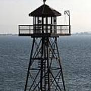 Alcatraz Watchtower Art Print