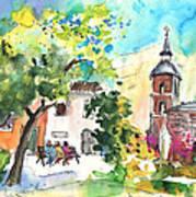 Alcazar De San Juan 03 Art Print